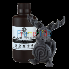 PrimaCreator Value Water Washable UV Resin - 1000 ml - Black