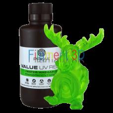 PrimaCreator Value Water Washable UV Resin - 1000 ml - Transparent Green