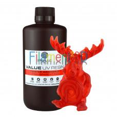 PrimaCreator Value Water Washable UV Resin - 1000 ml - Transparent Red