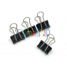 Glass Plate Clips - 19 mm - 4-pack