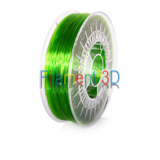 Transparent Light Green PETG 1.75mm 0.8Kg