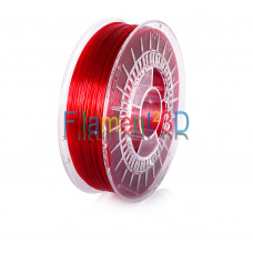 Transparent Red PETG 1.75mm 0.8Kg