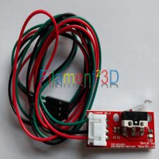 Endstop switch with wire