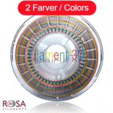 ROSA 3D RAINBOW SILK
